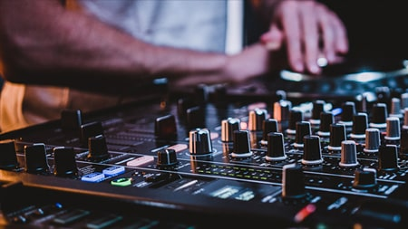 DJs can apply for a grant to develop their creativity