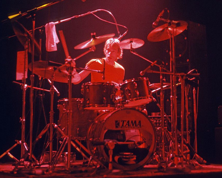 Stewart Copeland with The Police in Atlanta