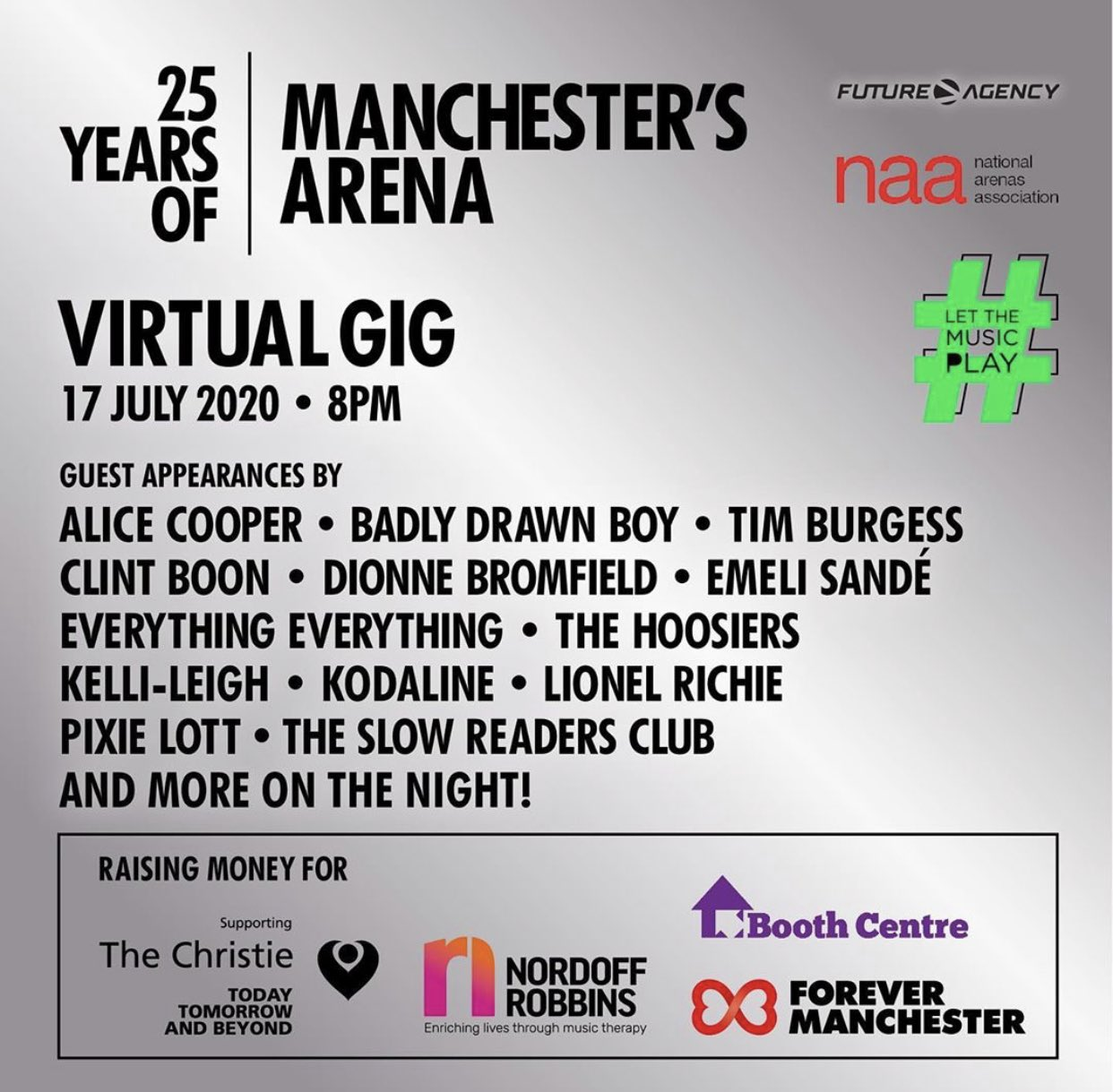 Manchester Arena lineup